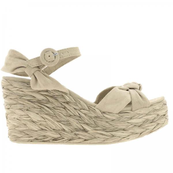 Wedge shoes Pedro Garcia DARRIL LINEN VELOUR