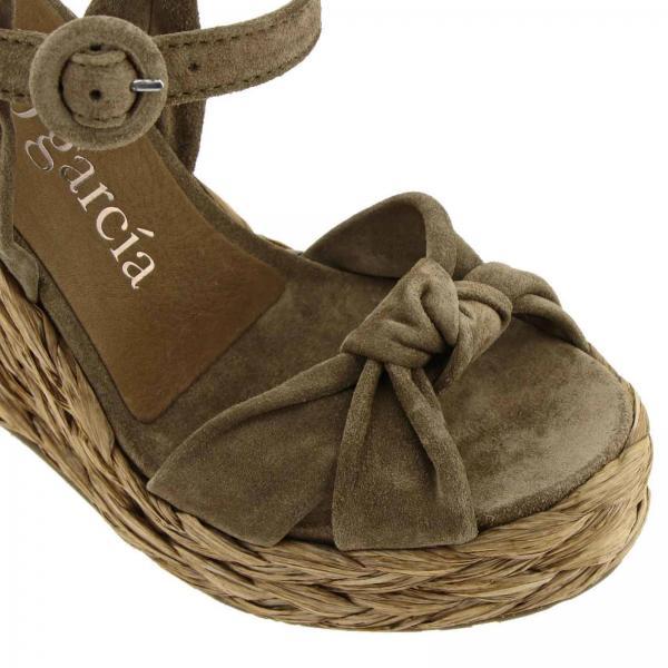 Velourgiglio Mujer Dove De 2019 Pedro Primavera Garcia Zapatos verano Grey Bark Talise Cuña x4aqwZO