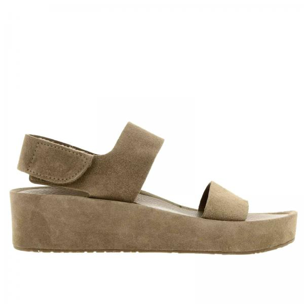 Wedge shoes Pedro Garcia LACEY BARK CASTORO