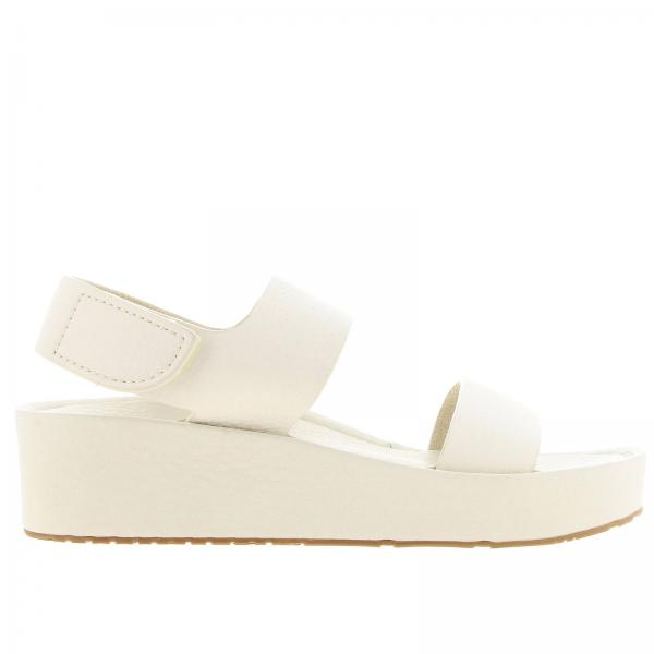 Wedge shoes Pedro Garcia LACEY WHITE CERVO