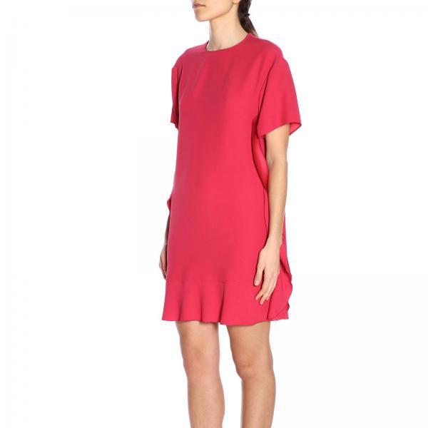 Valentino 2019 0f1giglio verano Rr0vae65 Vestido Mujer Primavera Red Ewqx7WH