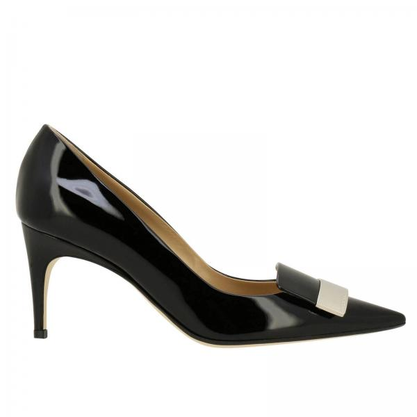 07c1488c685a Sergio Rossi Women s Black Pumps