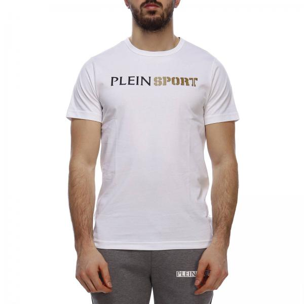 T Shirt Fur Herren Plein Sport T Shirt Plein Sport Mtk3175 Sjy001n