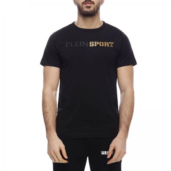 Stampa Logo T Maxi shirt Girocollo Bicolor A Con yv76IYbgf