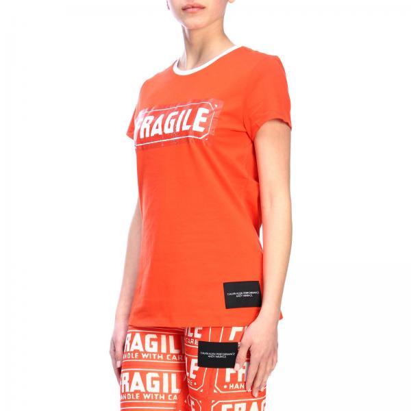 Banda Mezza Logo Manica Contrasto Con Girocollo shirt T SpGUVMLqz