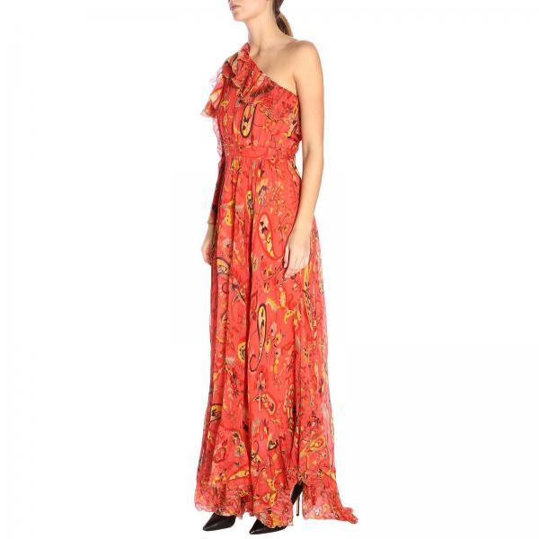 Primavera 4320giglio Coral Etro Mujer 14888 Vestido 2019 verano wX7qBn6R