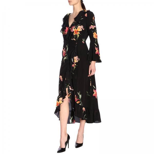 4329giglio 14893 Mujer Primavera verano 2019 Etro Negro Vestido q8wnxvw