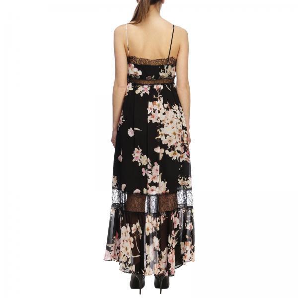 Vestido Twin Set Negro 2019 Mujer 191tp2717giglio Primavera verano xS7wx