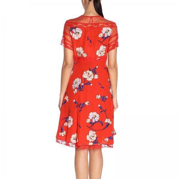 Mujer Vestido Frkgiglio Ermanno D342q353 Scervino verano Rojo Primavera 2019 dZpHZgPq4