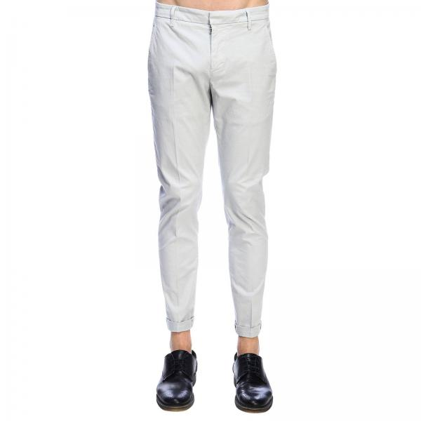 Pantalone Gaubert Dondup Chino in gabardine stretch con fondo 17