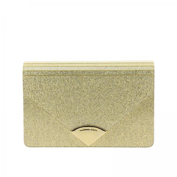 064c54fecfc0 Michael Michael Kors Women s Gold Clutch