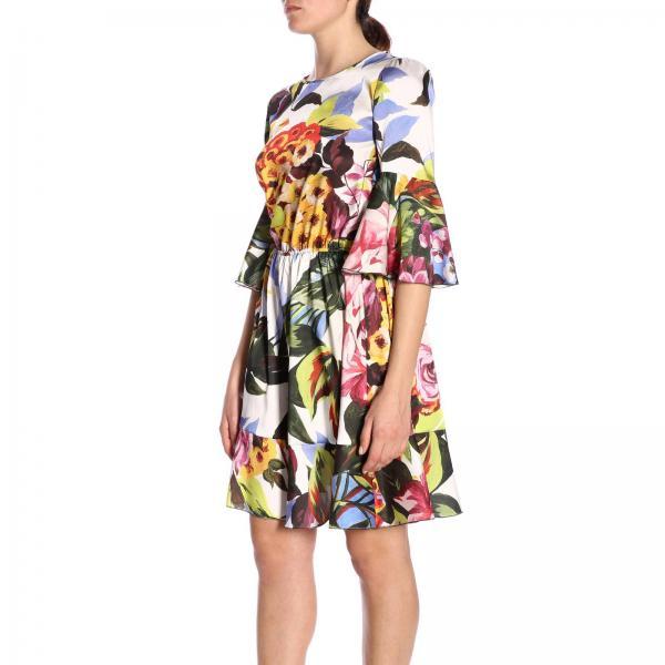 Vestido 2019 Fantasía Blumarine Blugirl Primavera 7622giglio Mujer verano rqfrw0