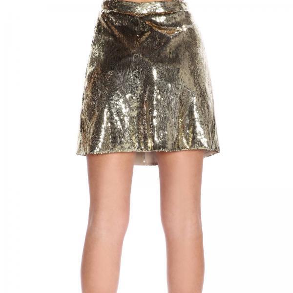 Blumarine Blugirl verano Mujer Primavera 2019 Gold 7512giglio Falda qFRfxSTx