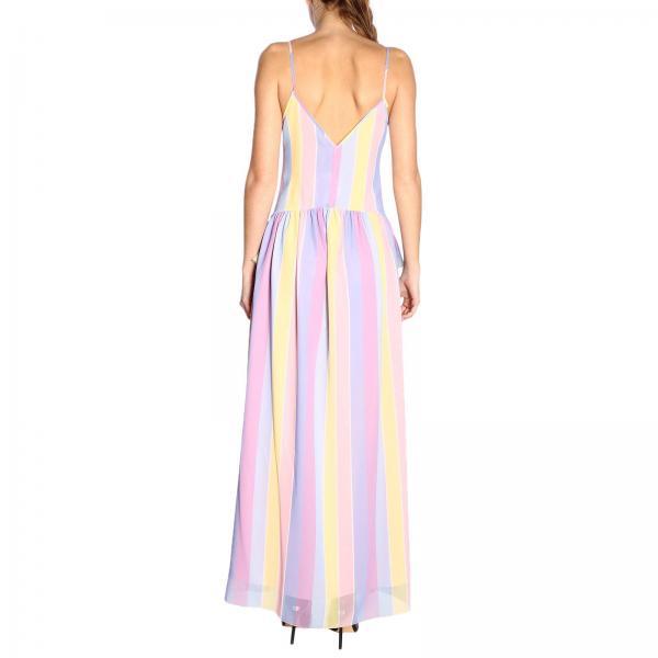 Fantasía Primavera Blugirl Blumarine Vestido Mujer verano 7609giglio 2019 BwqURZ7pW