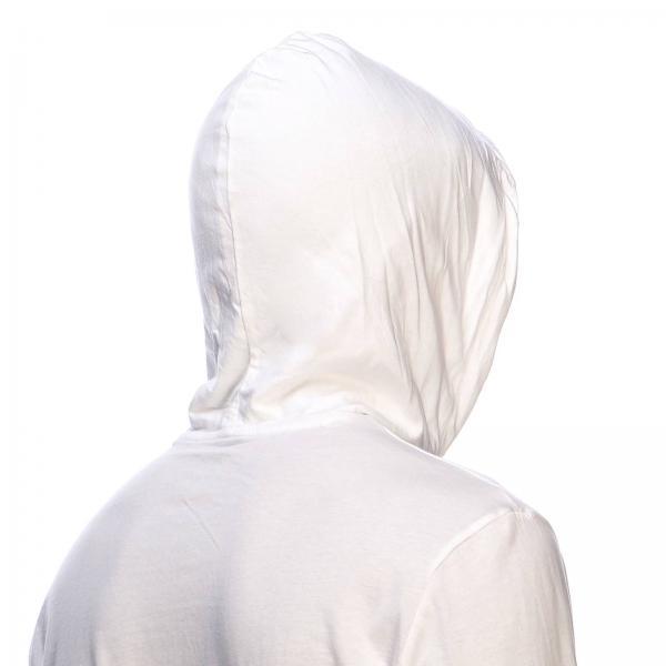 shirt BiancoFelpa Con T Cappuccio Polo 710652669 Uomo Lauren Coulisse Ralph E RL35Aj4