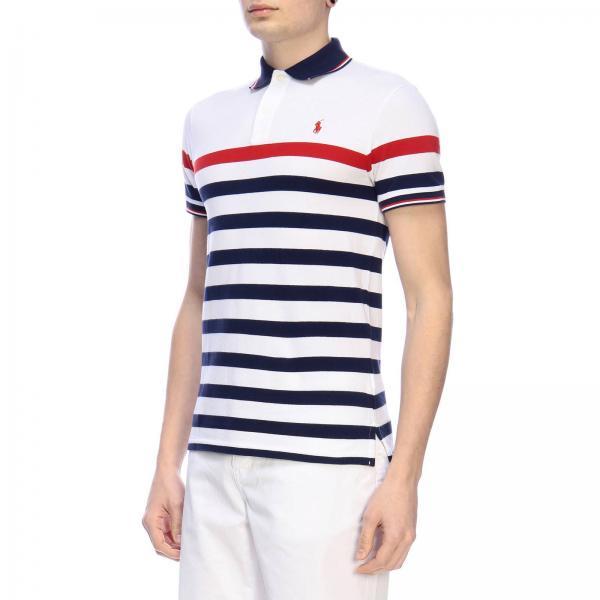 verano 710752595giglio Polo Lauren 2019 Ralph Hombre Camiseta Blanco Primavera 0aX7nP