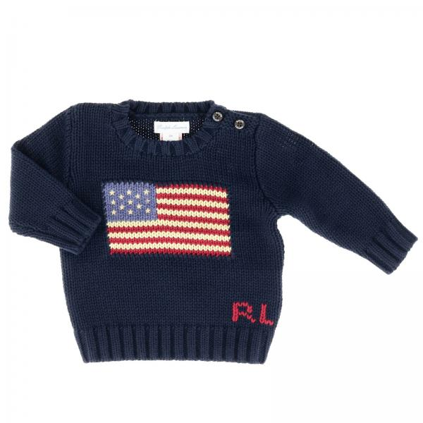 7f4c56e0809f Polo Ralph Lauren Infant Baby s Blue Sweater