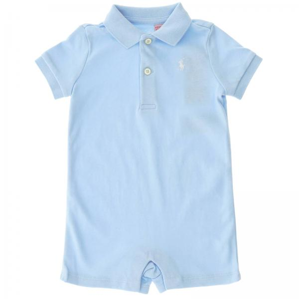 the best attitude 6f447 109d9 Tutina polo ralph lauren infant in jersey con logo ricamato