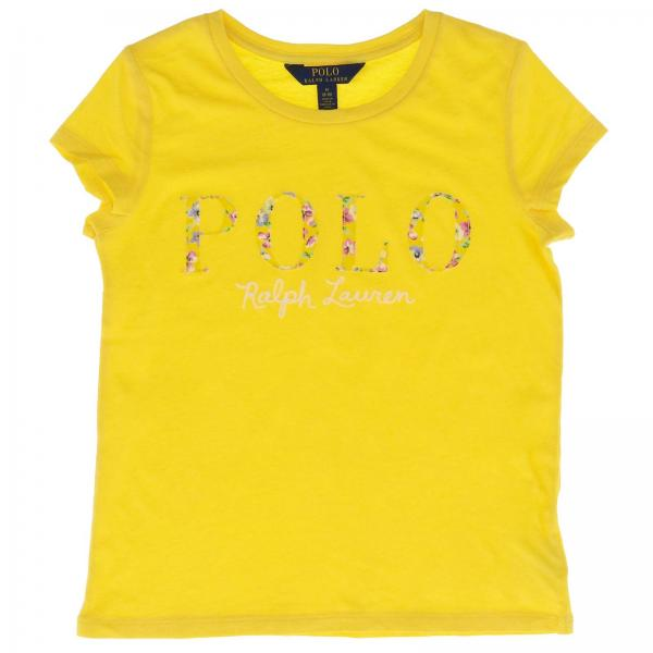 huge discount 02b35 c5863 Little Girl's T-shirt Polo Ralph Lauren Girl