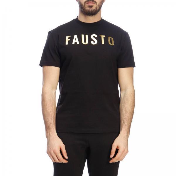 2019 Camiseta Puglisi Negro Fausto Hombre verano P0348giglio Primavera Fru7141 qxATHq