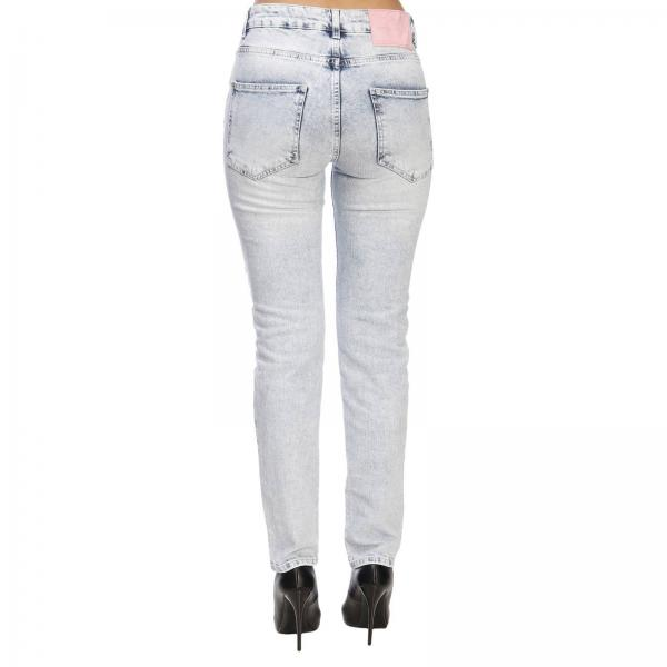 Tasche Frankie Morello Used Jeans Lorraine Boyfriend Denim In Stretch A 5 OPulZikwTX