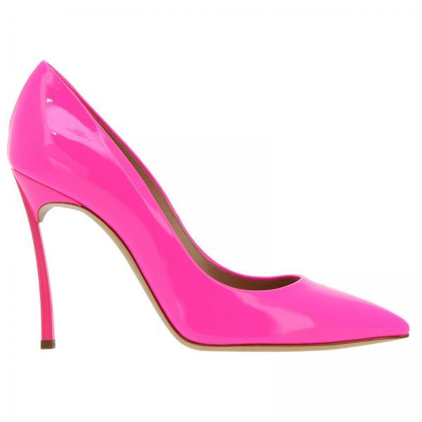 Fucsia De Casadei Zapatos Mujer 1f161d100tfluo955giglio 2019 verano Salón Primavera n1HxwwFf