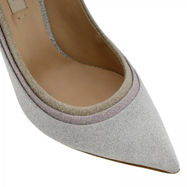 Zapatos Casadei verano Salón Plata 1g668m100my742ev6giglio Mujer 2019 Primavera De rtOAqwt