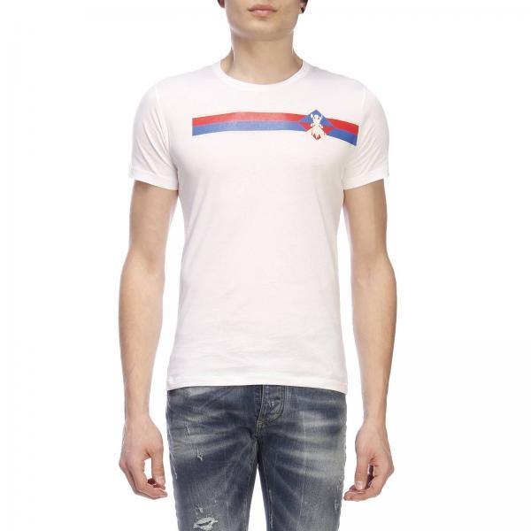 A Maniche Logo Con Patrizia Pepe Corte Maxi Stampa shirt T 3jLqcR54A