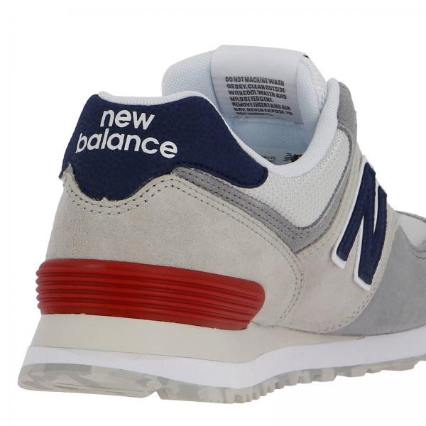 Bianco574 E Rete Ml574ujd Camoscio Micro Ammortizzatore Encap Con In Balance Sneakers Uomo New LAR3j54