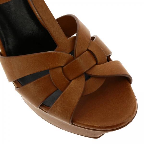verano Primavera Leather Sandalias Tacón Mujer De Bda00giglio 315490 2019 Saint Laurent Zpzq8Z