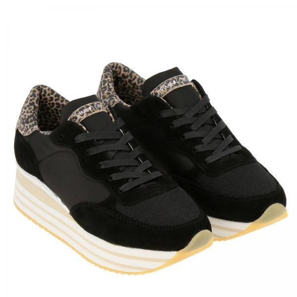 Mujer London 25574pp1giglio 2019 Zapatillas Primavera verano Negro Crime gw7anqSEd