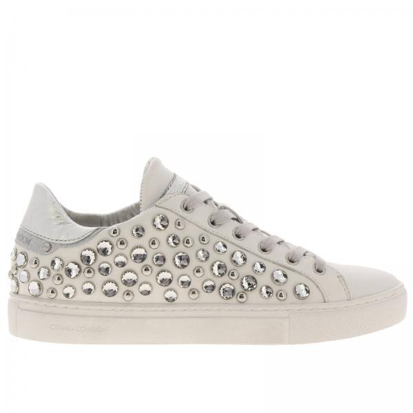 Zapatillas Mujer Primavera London Crime 25150pp1giglio 2019 Blanco verano PRqPCwOx