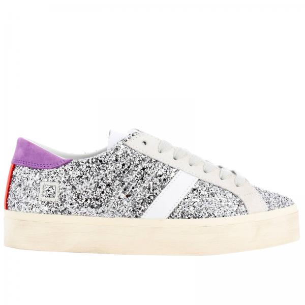 Sneakers D.a.t.e. HILL DOUBLE GLITTER