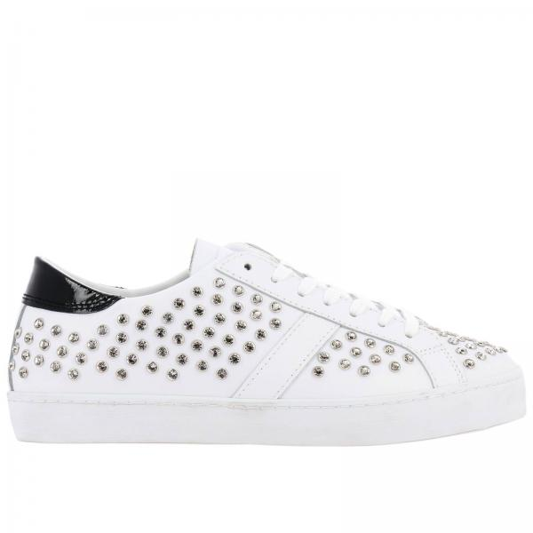 Baskets D.a.t.e. HILL LOW STRASS