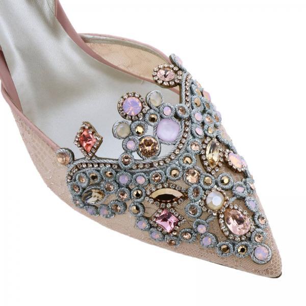 C09130 verano Mujer Caovilla Rene Zapatos De 2019 Rosa 075 Salón Primavera pn01x220giglio wgvE7qO