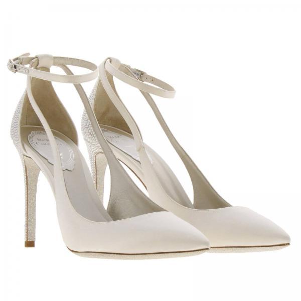 De verano Rene Salón C10018 Caovilla 2019 Primavera Zapatos Blanco r001v898giglio Mujer 100 1wpWB