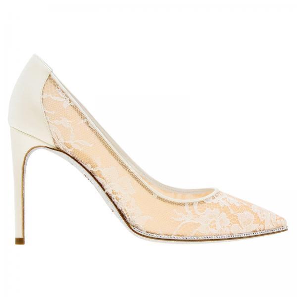 Rene De Caovilla pi01v749giglio verano 2019 Primavera 100 Blanco Mujer C09926 Zapatos Salón ZtA1qn66