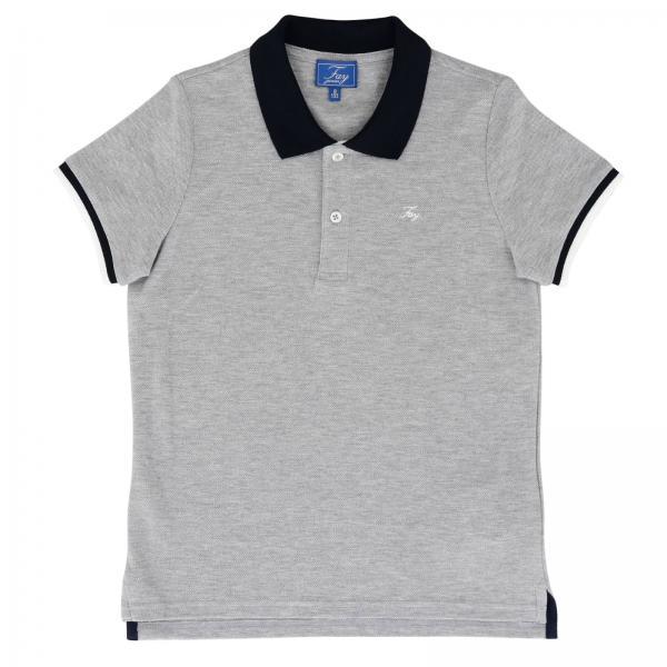 0929eec737 Camiseta Niño Fay Gris | Camiseta Fay Ndhb2387720 Qsc - Giglio ES