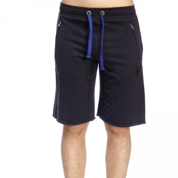 Bermuda Blauer in stile jogging