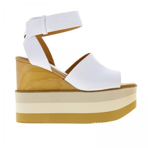 Primavera Zapatos Paloma Akane Blanco Barcelò Mujer Napasoftgiglio verano Cuña 2019 De tArwA8