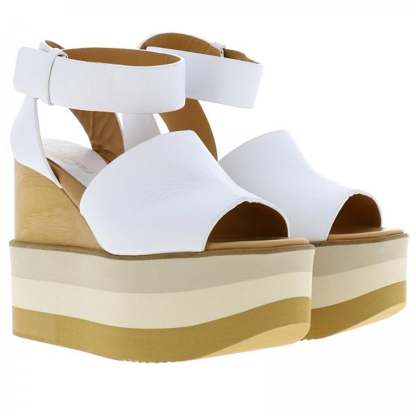 Paloma De Napasoftgiglio 2019 Barcelò verano Blanco Zapatos Mujer Akane Cuña Primavera w7WtR