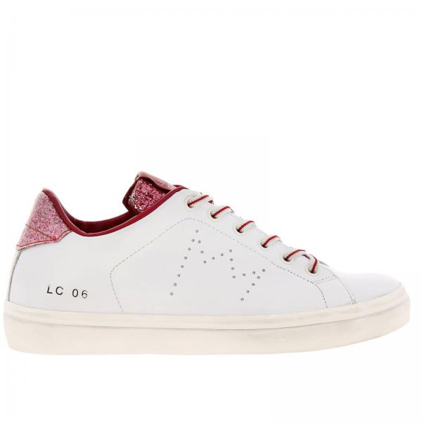 Sneakers Leather Crown WLC06
