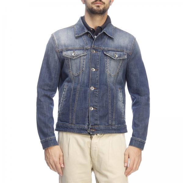 Effetto Jeans Giubbotto Di Eleventy Con Used Slim R4jcAq35SL