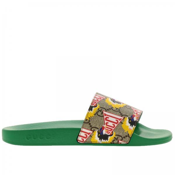 84e6a062e26 Shoes little boy Gucci Beige