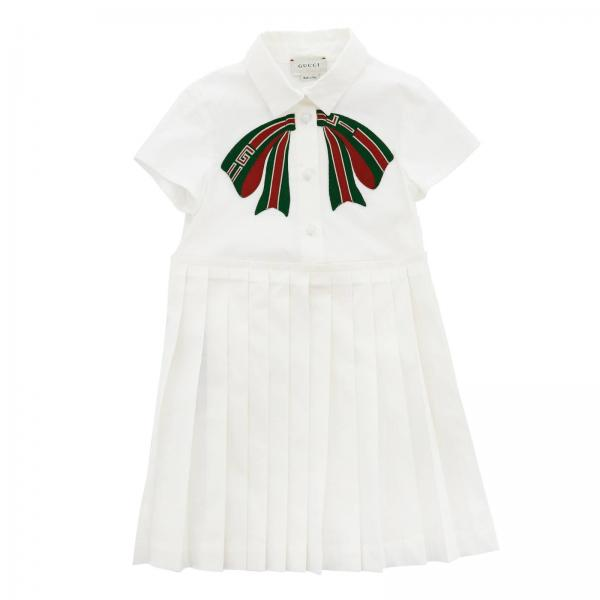 e04d3d06f Gucci Little Girl's White Dress | Dress Kids Gucci | Gucci Dress ...