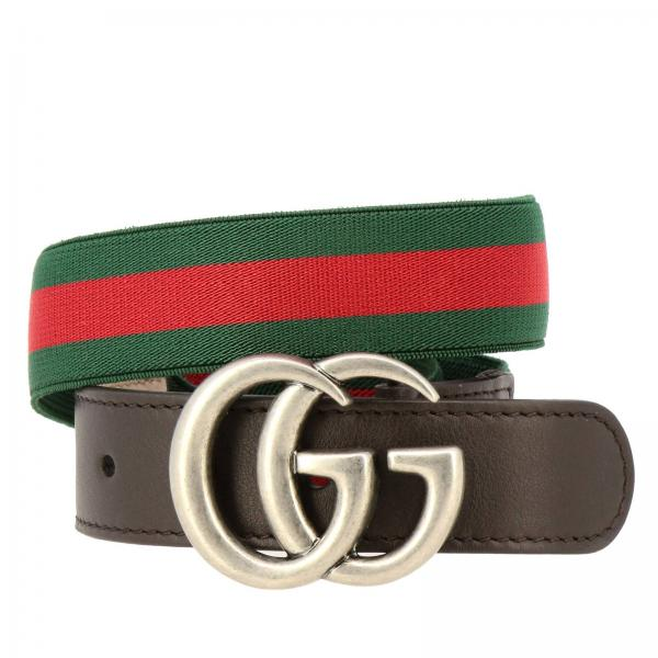 e4f159af016 Gucci Little Boy s Green Belt