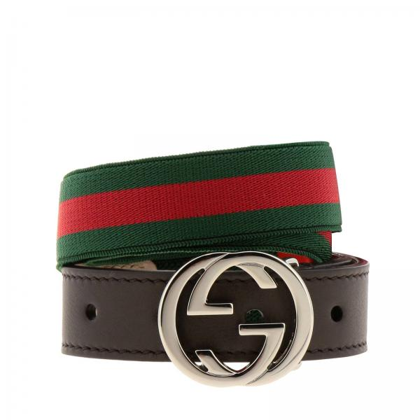 bf7873272da Gucci Little Boy s Green Belt