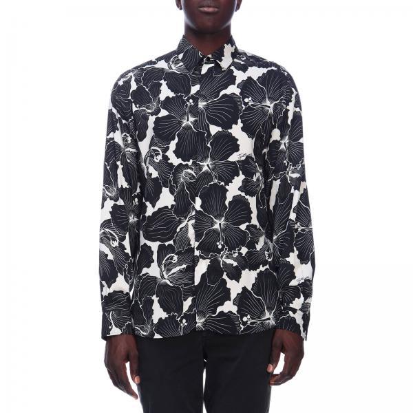 quality design 1e1e7 0150a Camicia just cavalli in jersey con stampa floreale all over