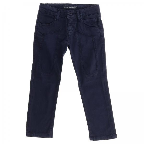 Pantalone JB1023 Jeckerson a 5 tasche in gabardine stretch con maxi toppe