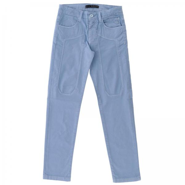 Pantalone J1023 Jeckerson a 5 tasche in gabardine stretch con maxi toppe